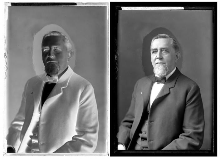 Marriott C. Morris, Elliston P. Morris, ca. 1890.