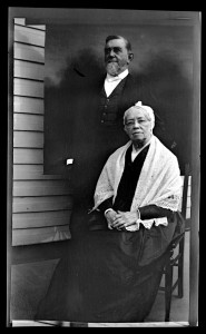 Elliston Perot Morris and Beulah Sansom Morris. Sea Girt, New Jersey. 1908