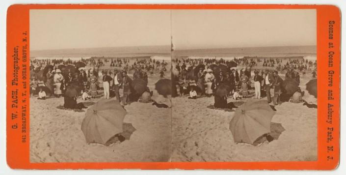 Gustavus Pach, Views of Ocean Grove, New Jersey, ca. 1877