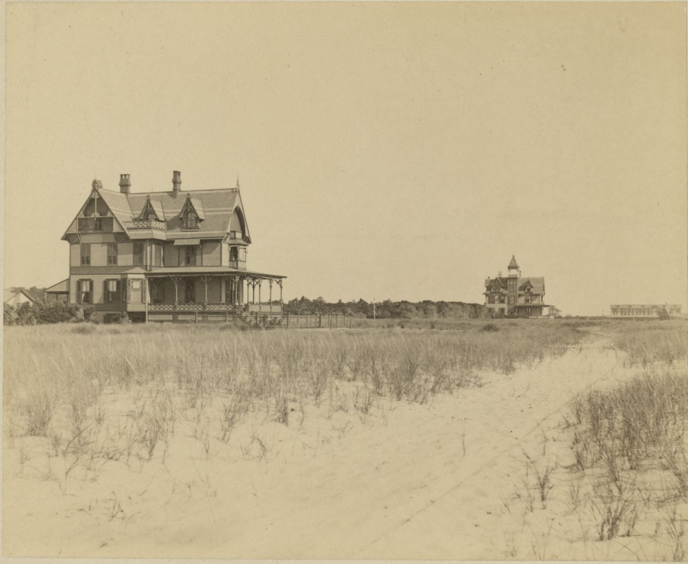 Marriott C. Morris. Children on beach near Cedar Mer. Collection of Monmouth County Historical Society.